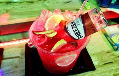 Alcohol tank